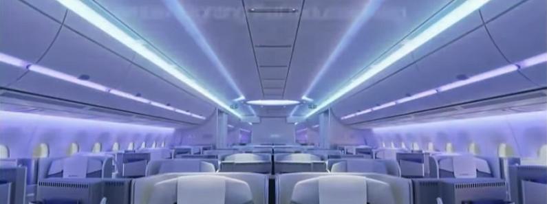 Airbus A 350-1000 - cabine
