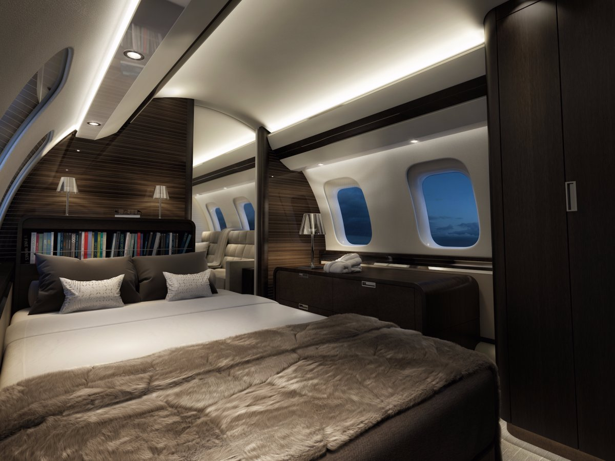Bombardier Global 7000 - Master Suite