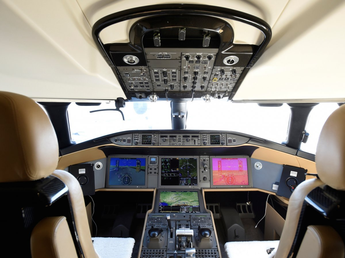 Bombardier Global 7000 - cockpit