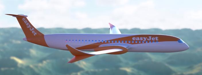 prototype d'avion électirque EasyJet