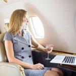 L'accès à internet en vol : une priorité pour les passagers d'avions d'affaires