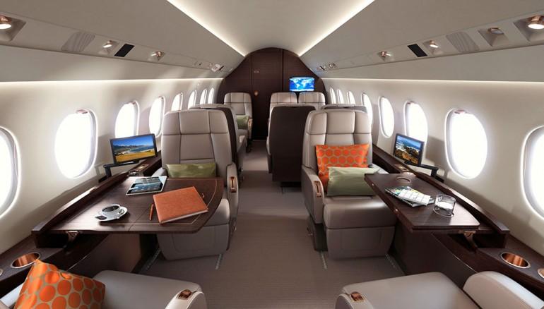 Dassault Falcon 2000 lxs-sièges