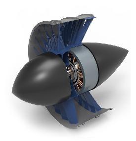 un moteur du Lilium Jet - photo Lilium Jet