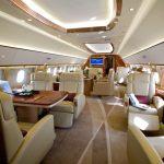 Jet privé Airbus ACJ319neo, plafond transparent et classe de supercar