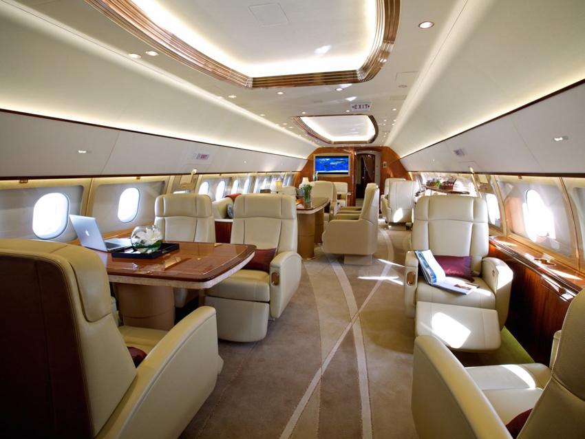 chic jet priv airbus acj319neo au plafond transparent. Black Bedroom Furniture Sets. Home Design Ideas