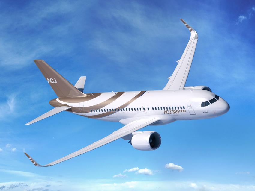 Airbus ACJ319 Neo - la version affaire de Airbus-A319 Neo