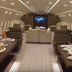 Les neuf jets privés les plus luxueux du monde