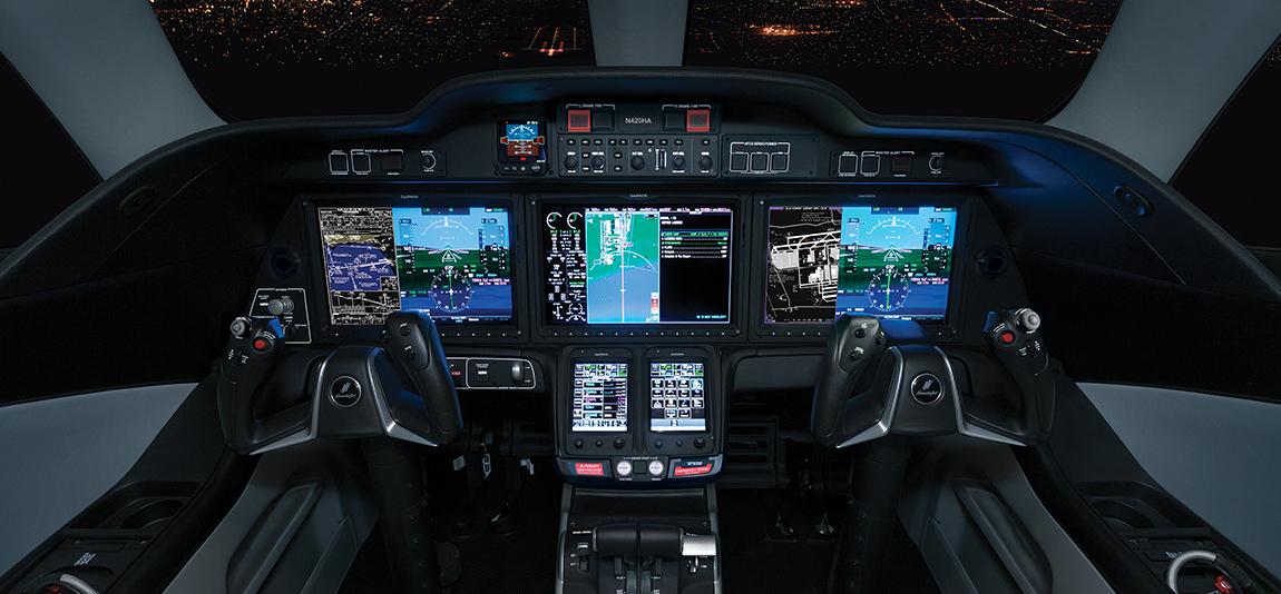 Honda Jet - Cockpit