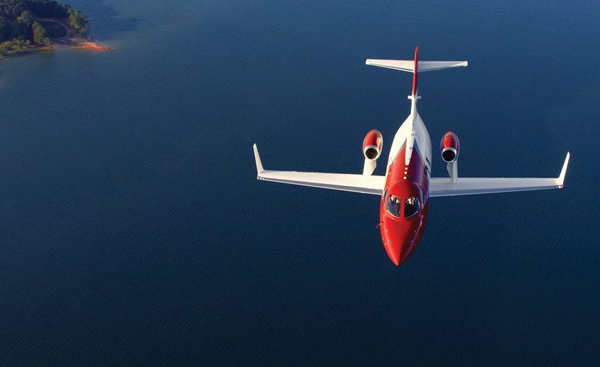 Honda Jet en vol