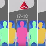 largeur moyenne des sièges des jets de ligne en 2014, en pouces