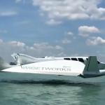Mi-avion et mi-bateau, l'AirFish-8 est génial et économique