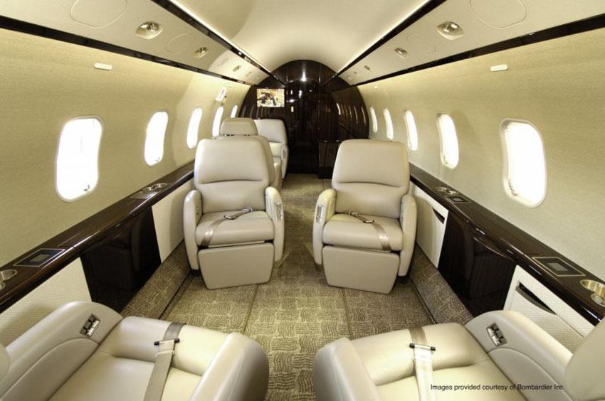 Bombardier Challenger 350 - intérieur - 2
