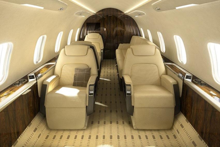 Bombardier Challenger 350 - intérieur