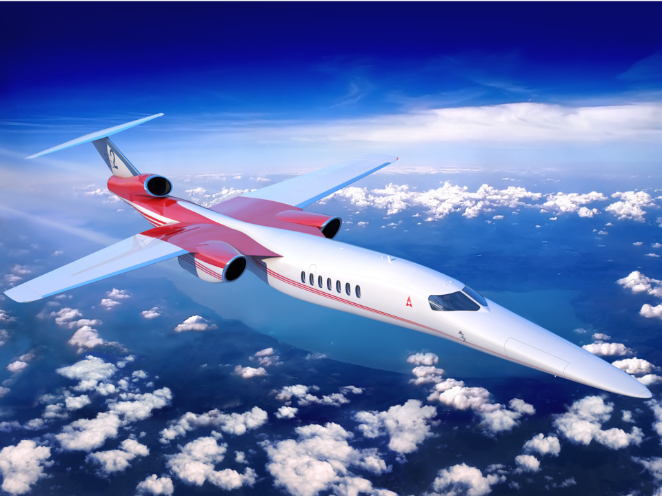 Aerion Supersonic As2 jet - courtoisie Aerion Supersonic