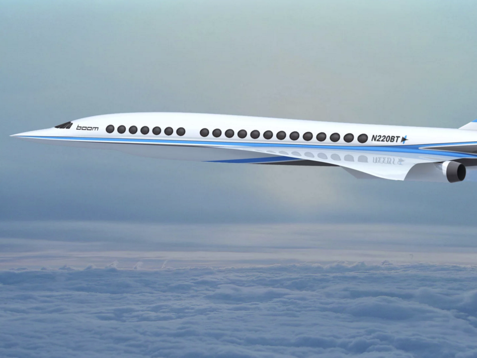 Boom Supersonic - jet - courtoisie Boom