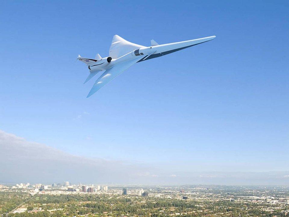 Lockheed-Martin - projet de jet supersonique expérimental - courtoisie Lockheed-Martin