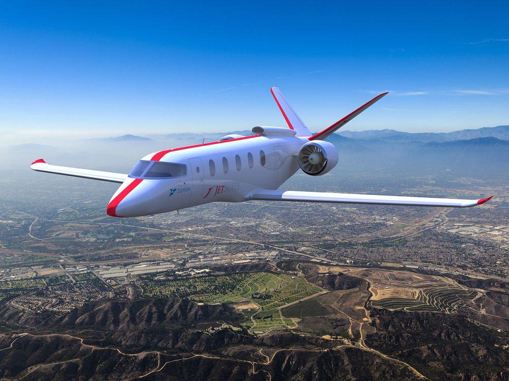 Zunum Aero aircraft - Source Zunum