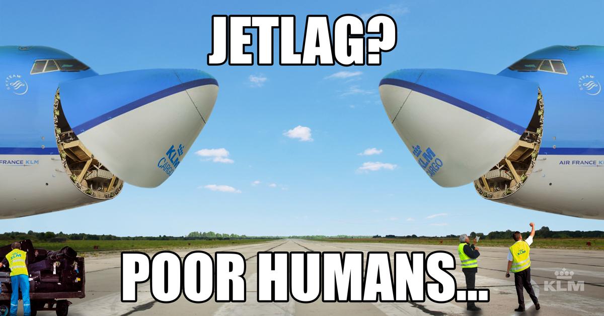 décalage horaire - photo du blog KLM