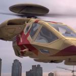 hélicoptère du film sixième jour