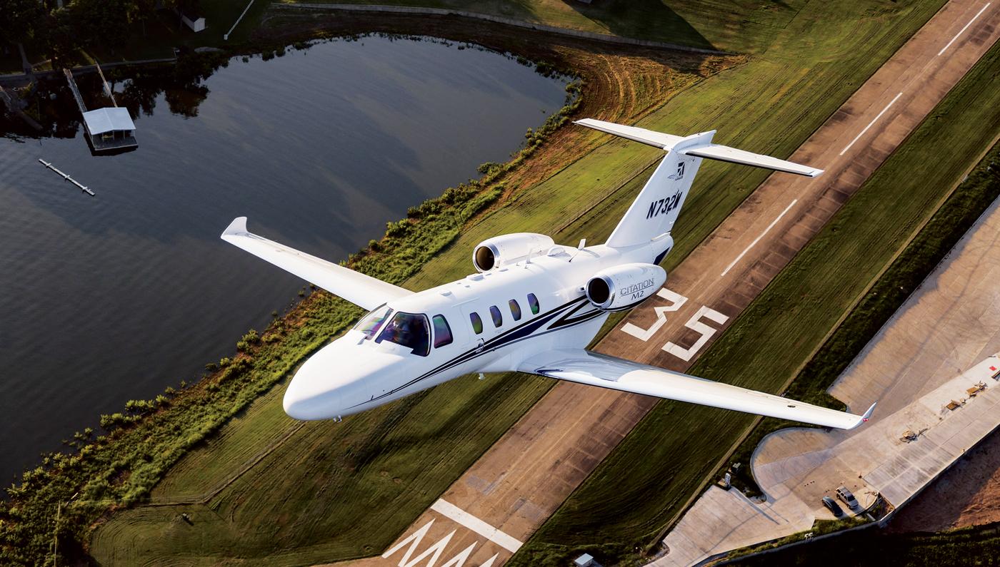 Cessna Citation M2 – courtoisie Cessna