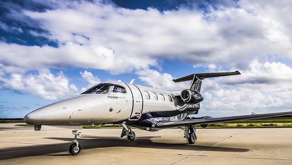 Embraer Phenom 100ev – courtoisie Embraer