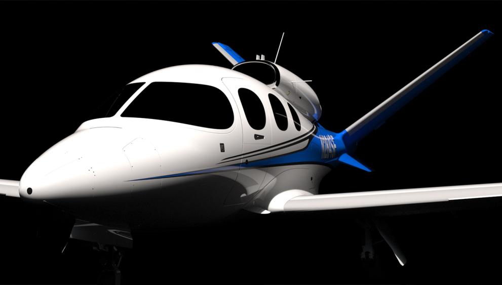 Cirrus Jet Vision