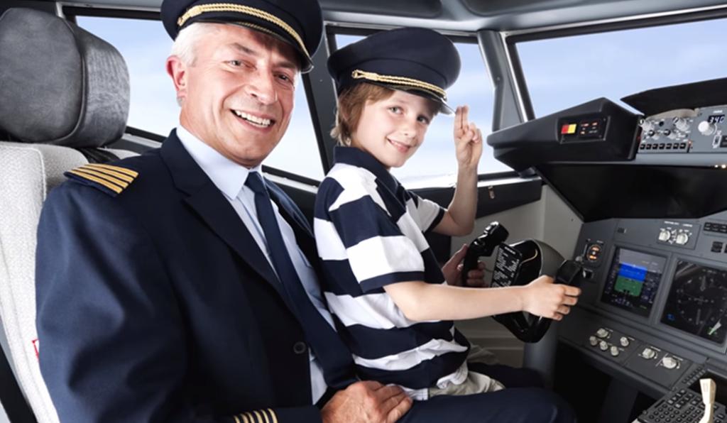 Fils d'un pilote