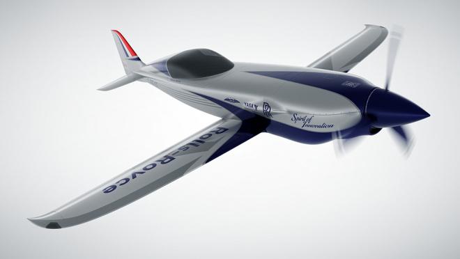 Avion électrique Rolls-Royce ACCEL - avec l'aimable autorisation de Rolls-Royce-2