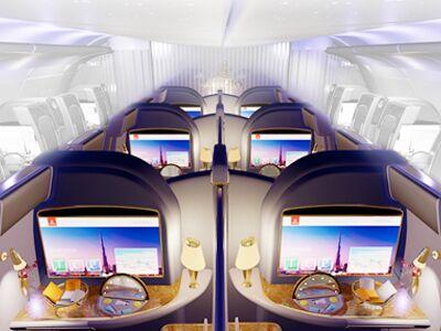 Emirates 1ère classe - cabine