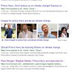 Le Prince Harry et Megan Markle sur les jets privés