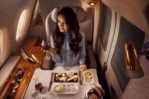 Première classe Emirates airlines (1)