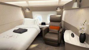 Première classe Singapour airlines