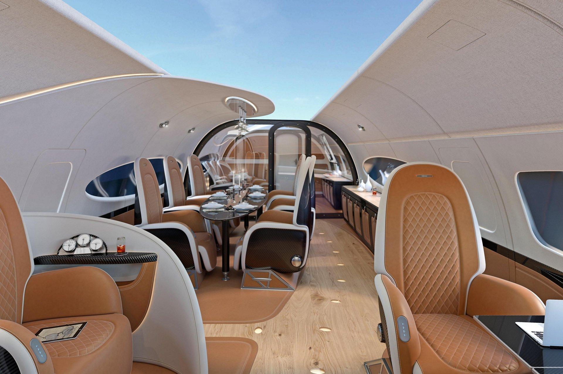 ACJ319 Neo Infinito - cabine - Photo Airbus