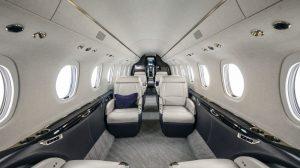 Cessna Citation Longitude - cabine