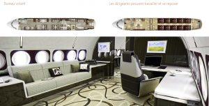 Airbus ACJ320neo-bureau