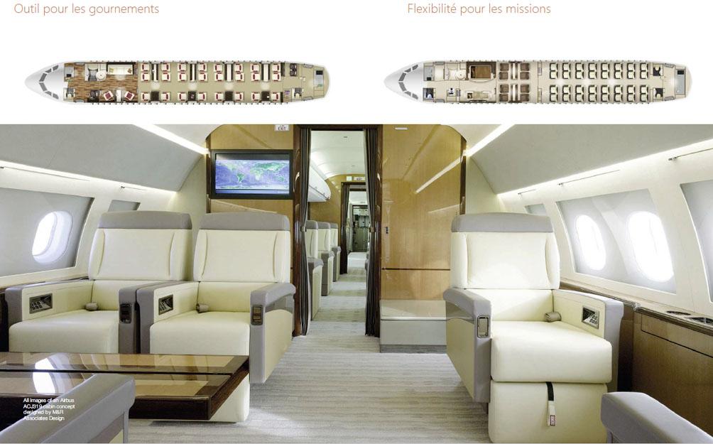 Airbus ACJ320neo-cabine