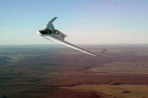 Horten-HX-2 en vol