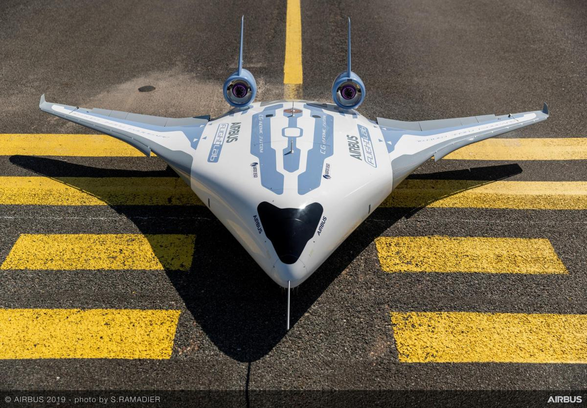 Prototype Airbus fusAILEage