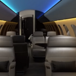 Bombardier Global 7500-Soleil lighting System