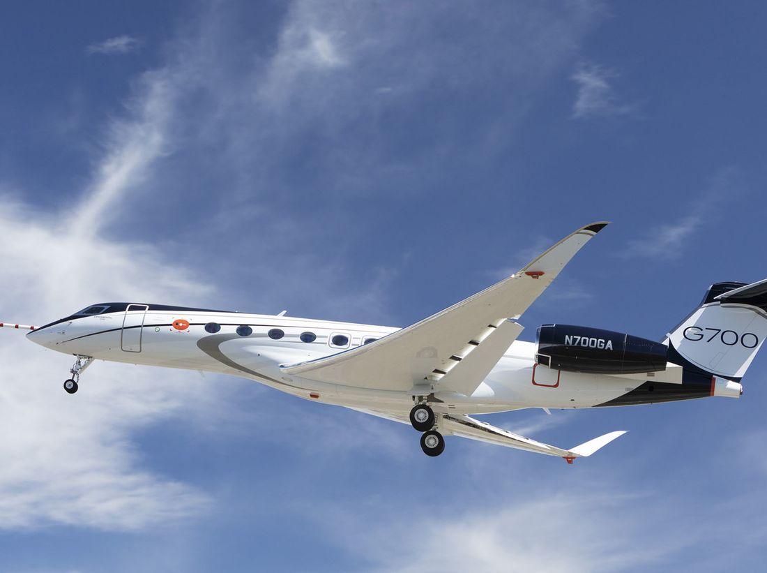 Gulfstream G700 – courtesy Gulfstream