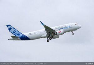 A320neo CFM AU DÉCOLLAGE