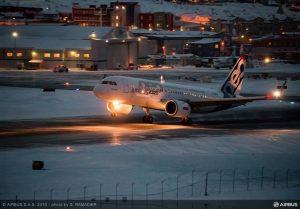 A320neo décollage de nuit