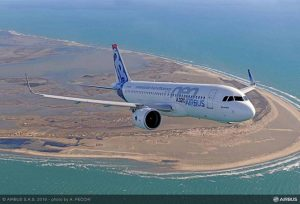 A320neo en vol