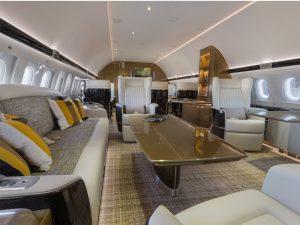 07 Airbus ACJ319 espace commun - photo Cabinet Alberto Pinto