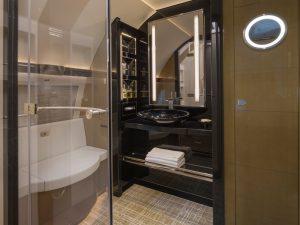 04 Airbus ACJ319 salle de bains - photo Cabinet Alberto Pinto