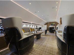 05 Airbus ACJ319 salle de séjour - photo Cabinet Alberto Pinto