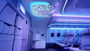 Cabine de l' A320neo entrée
