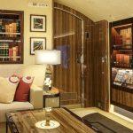 Boeing BBJ 747-8 by Cabinet Alberto Pinto - living
