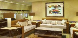 Boeing BBJ 747-8 Alberto Pinto - living