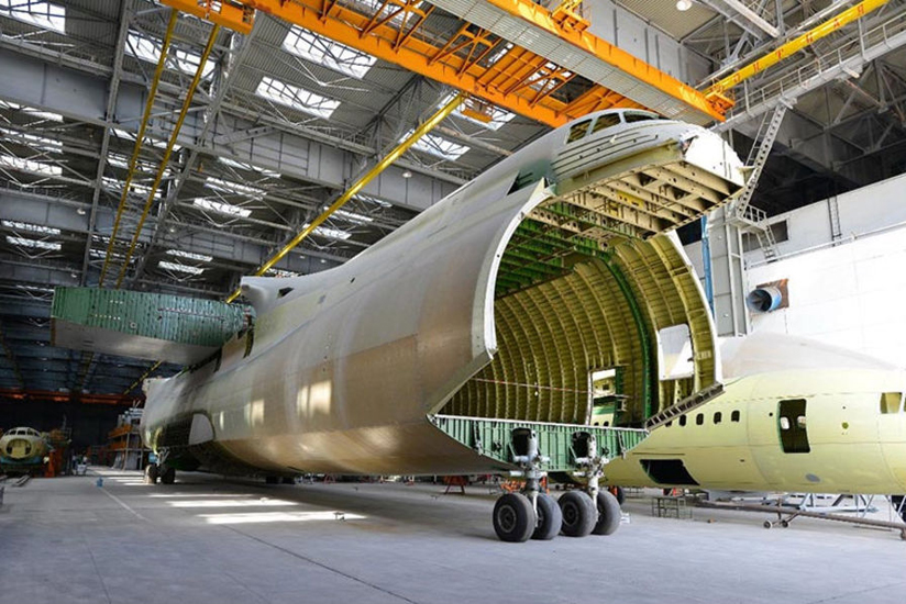 La fabrication du 2ème Antonov 225 Mriya - Photo Antonov Airlines